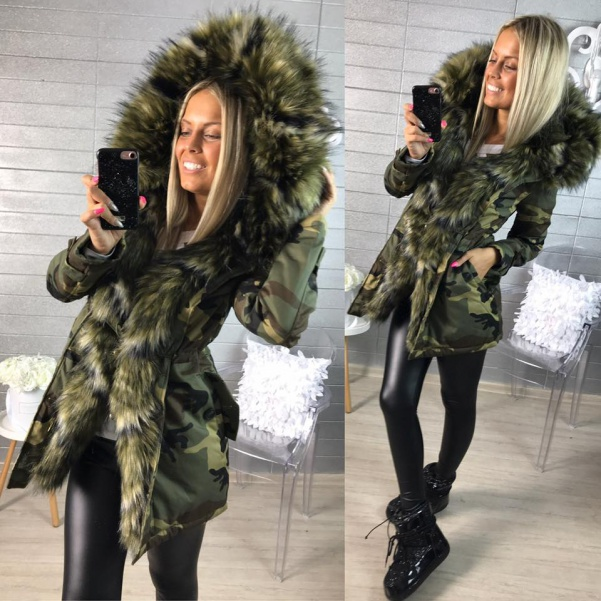 Army parka Green - TOP!!