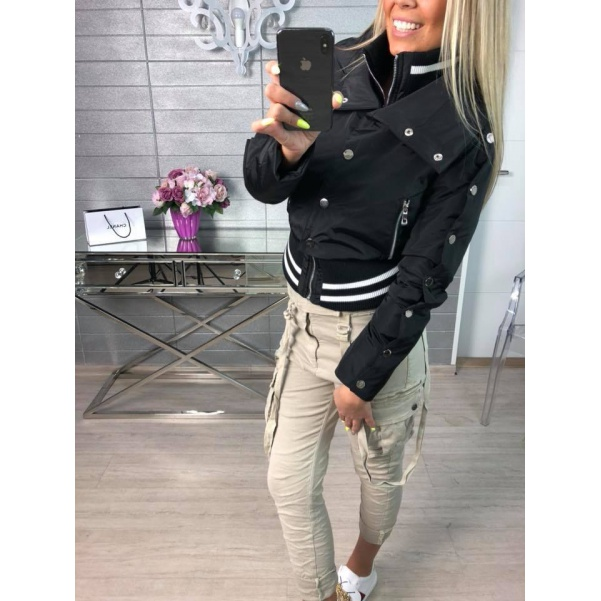 Bomber Black s cvoky - Must have